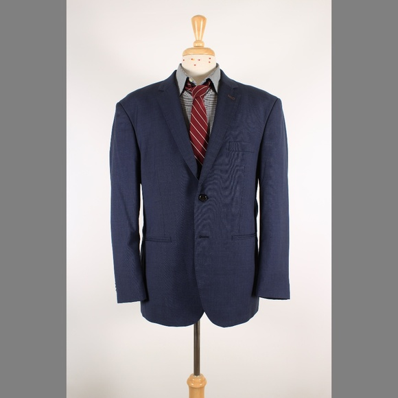 Indochino Other - #Indochino 44S Navy Solid Wool 2B Sport Coat 70-1
